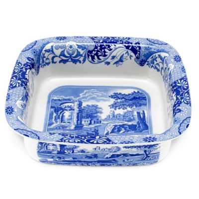 Spode® Blue Italian Square Serving Bowl