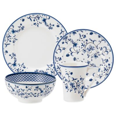 Spode® Blue Portofino 4-Piece Place Setting