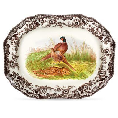 Spode® Woodland 19-Inch Pheasant Platter