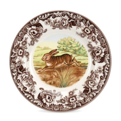 Spode® Woodland Rabbit Dinner Plate