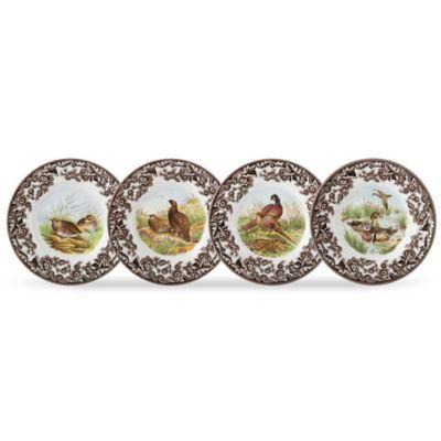Spode® Woodland Bird Canapé Plates (Set of 4)