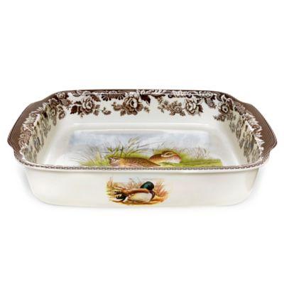 Spode® Woodland Quail/Mallard Handled Dish