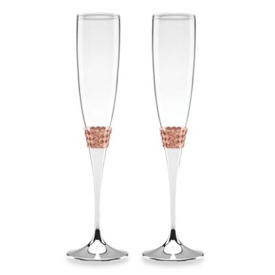 Lenox® Aegean Rose Toasting Flutes (Set of 2)