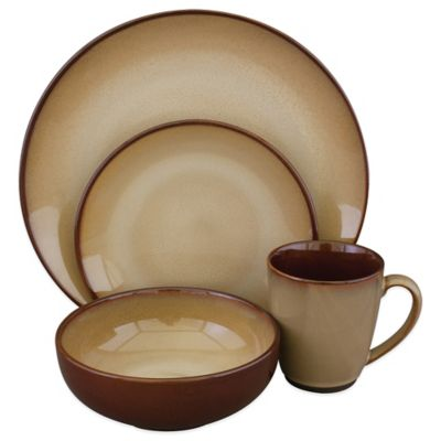 Brown Casual Dinnerware