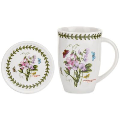 Portmeirion® Botanic Garden Sweet Pea Mug and Coaster Set