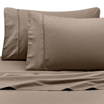 Kenneth Cole Reaction Home Queen Sheet Set in Taupe