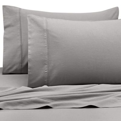 Kenneth Cole Reaction Home California King Sheet Set in Silver