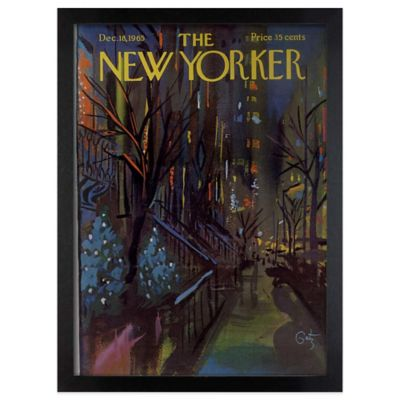 New Yorker December 1965 Wall Art