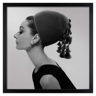 Cecil Beaton Audrey Hepburn Givenchy Hat Vogue August 15, 1964 Wall Art