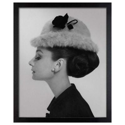 Cecil Beaton Audrey Hepburn Givenchy Bowler Hat Wall Art
