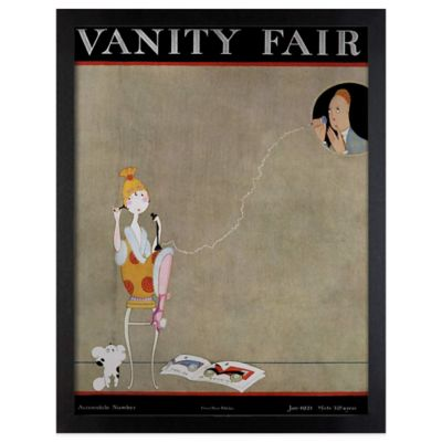 Vanity Fair January 1921 Wall Art