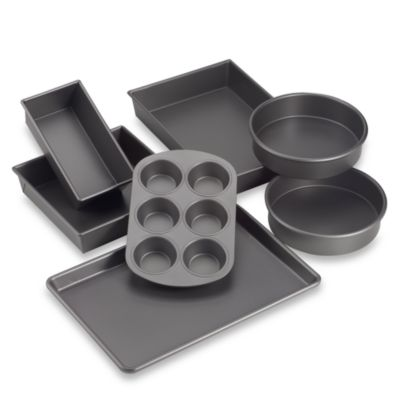 Chicago Metallic™ Professional Non-Stick 7-Piece Metal Bakeware Set
