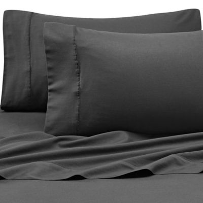 Kenneth Cole Reaction Home King Sheet Set in Black