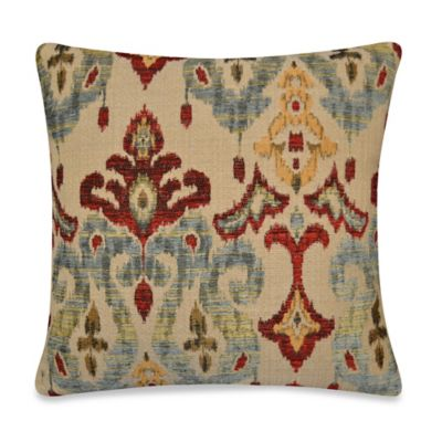 Sandoa Throw Pillow in Red
