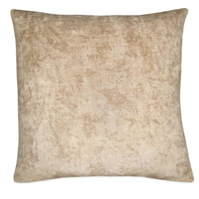 Stealth Square Throw Pillow in Cream