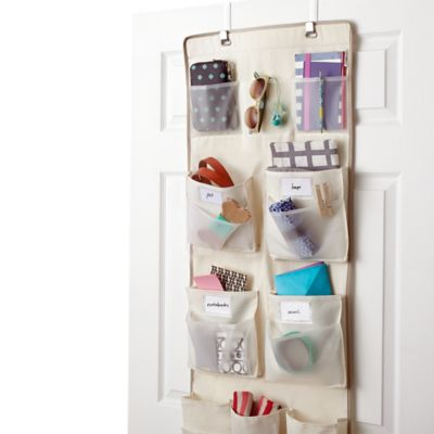 Real Simple® 29-Pocket Over-the-Door Multipurpose Organizer