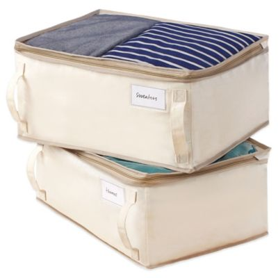 Real Simple® 2-Pack Garment Storage Bag