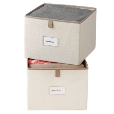 Real Simple® Garment Storage Bins (Set of 2)