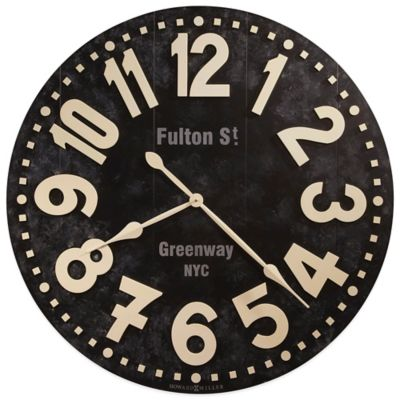 Howard Miller Fulton Street Gallery Wall Clock