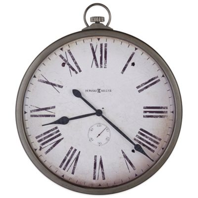Howard Miller Gallery Pocket Watch Wall Clock
