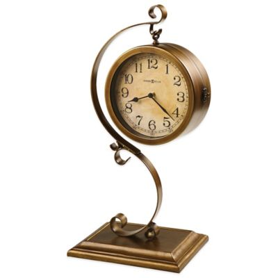 Howard Miller Jenkins Two-Sided Sofa Table Clock