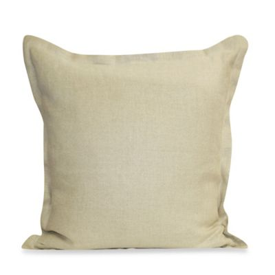 Ericson Square Throw Pillow in Beige