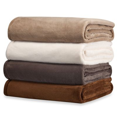 WarmZone™ Eversoft Twin Blanket in Chocolate