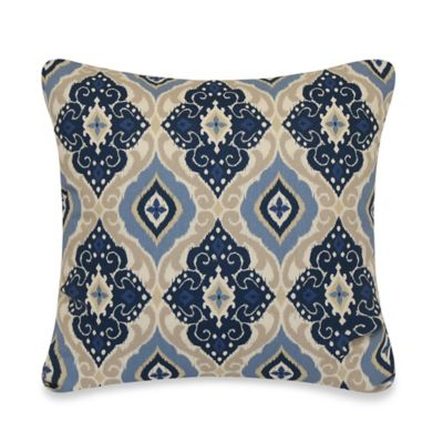 Jabari Throw Pillow in Blue