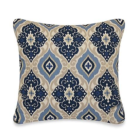 Jabari Throw Pillow in Blue - Bed Bath & Beyond