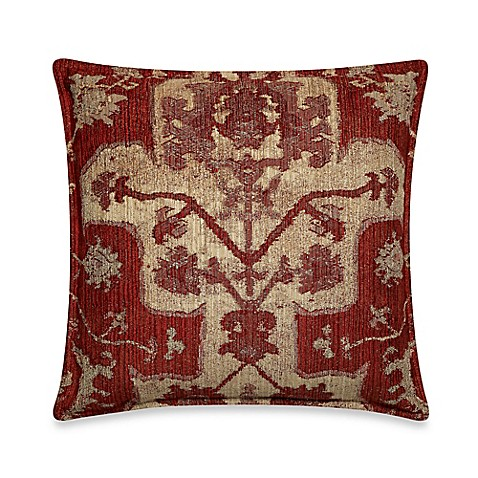 Red Throw Pillow For Bed : Taos Throw Pillow in Red - Bed Bath & Beyond