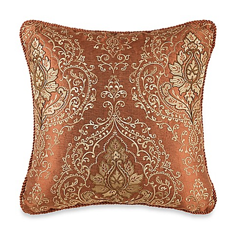 Throw Pillow Rust : Tunisia Throw Pillow in Rust - Bed Bath & Beyond