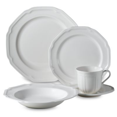 Antique White 5-Piece Place Setting