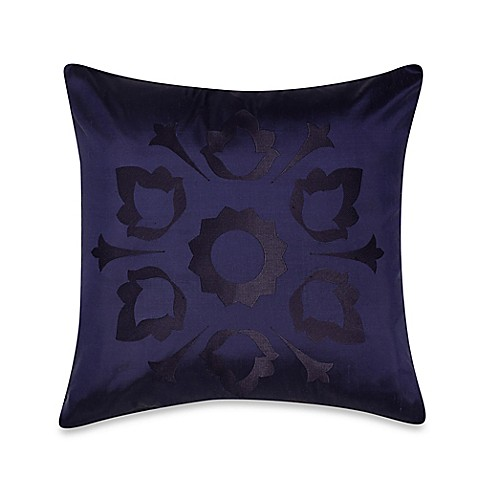 Buy Frette At Home Marano Pure Silk Square Throw Pillow In