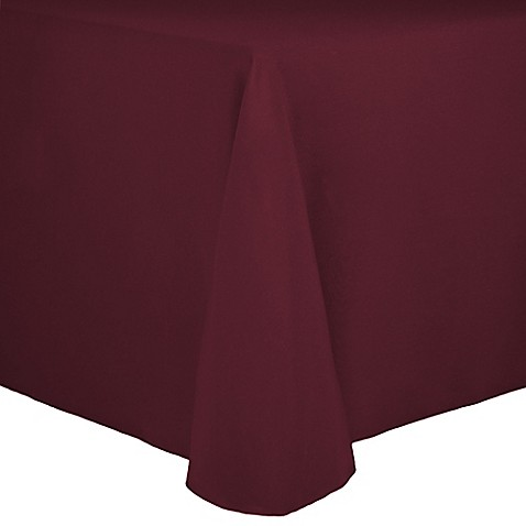 Buy Spun Polyester 90 Inch X 132 Inch Tablecloth In