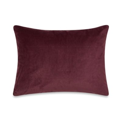 Kenneth Cole Reaction Home Night Floral Velvet Oblong Toss Pillow