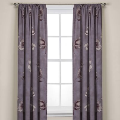 Floral Window Panels Treatments