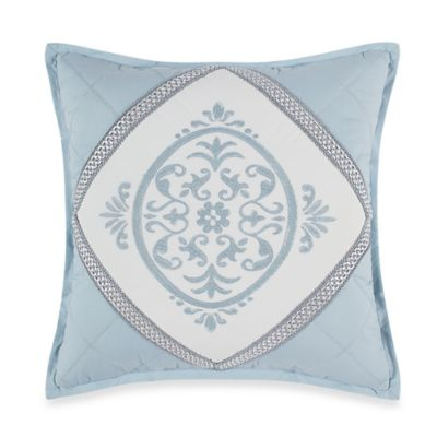 Winslet 16-Inch Square Throw Pillow in Blue