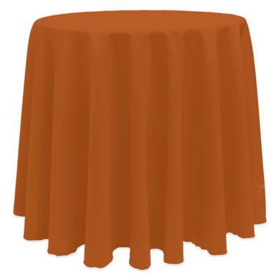 Burnt Orange Tablecloths