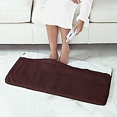 Heated Foot Warmer With Sherpa Lining Bed Bath Amp Beyond
