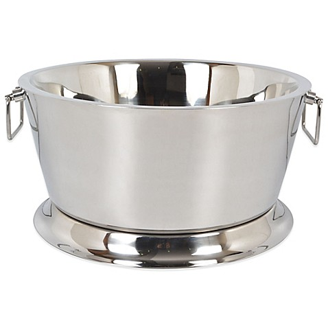 Double Walled Stainless Steel 17 Inch Beverage Tub Bed