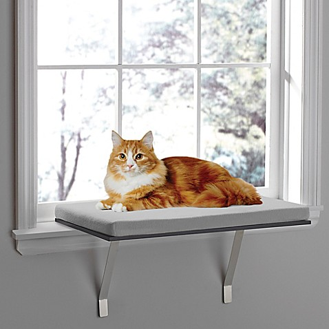 pawslife deluxe window cat perch. Black Bedroom Furniture Sets. Home Design Ideas
