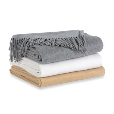 Berkshire Blanket® Cashmere Throw in Natural