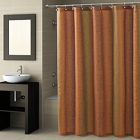 CroscillR Fingerprint Shower Curtain