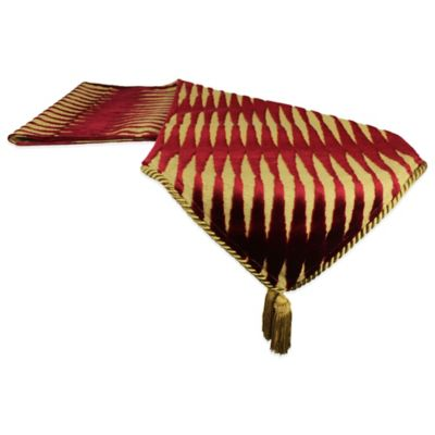 Sherry Kline Golden Gate 13-Inch x 72-Inch Table Runner in Burgundy