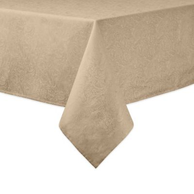 Metallic Red Table Linen