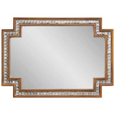 Bassett Mirror Company Garibaldi Wall Mirror in Gold Leaf