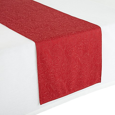 Waterford Linens Chelsea 16 Inch X 90 Inch Table Runner