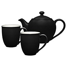 Noritake® Colorwave 3-Piece Tea-for-2 Set in Graphite