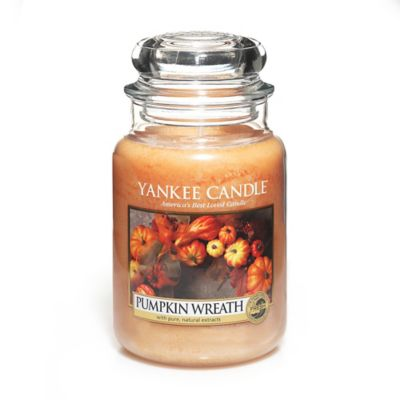 Yankee Candle® Pumpkin Wreath Large Candle Jar