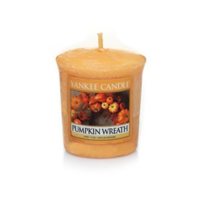 Yankee Candle® Samplers® Pumpkin Wreath Wrapped Votive Candle